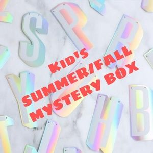 KID'S SUMMER/FALL MYSTERY BOX